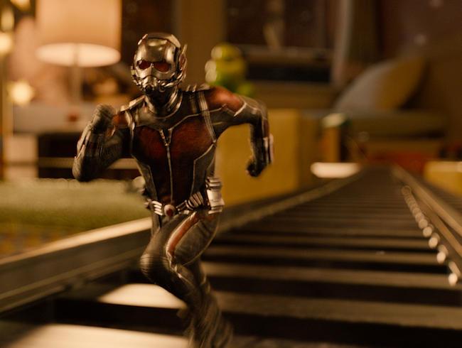 28. Ant-Man (tie)