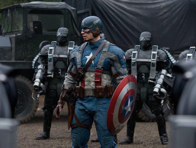 23. Captain America: The First Avenger (tie)