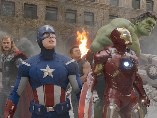 17. The Avengers (tie)