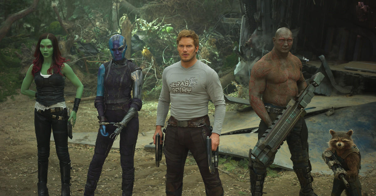 22. Guardians of the Galaxy Vol. 2