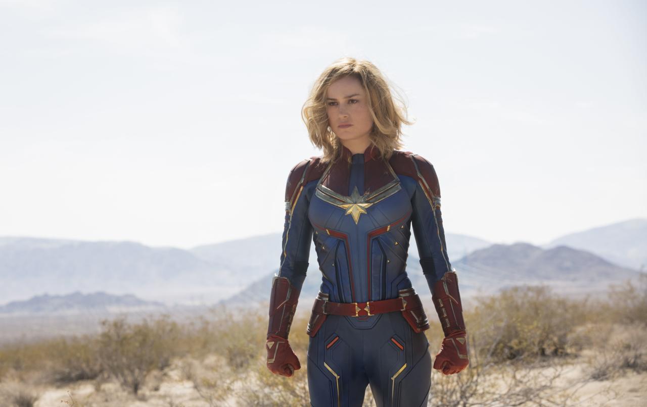 28. Captain Marvel (tie)