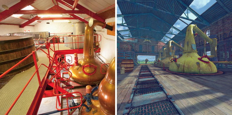 9. Historic Distillery Stage in Street Fighter IV