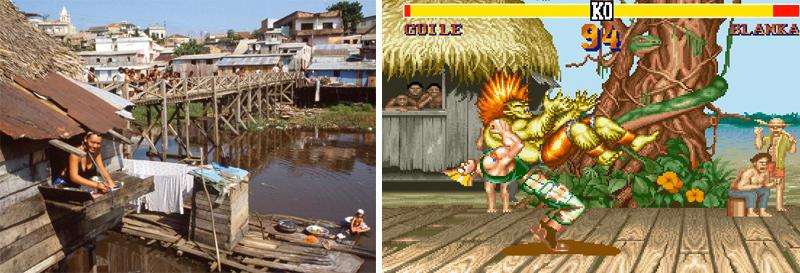 8. Blanka's Stage in Street Fighter II