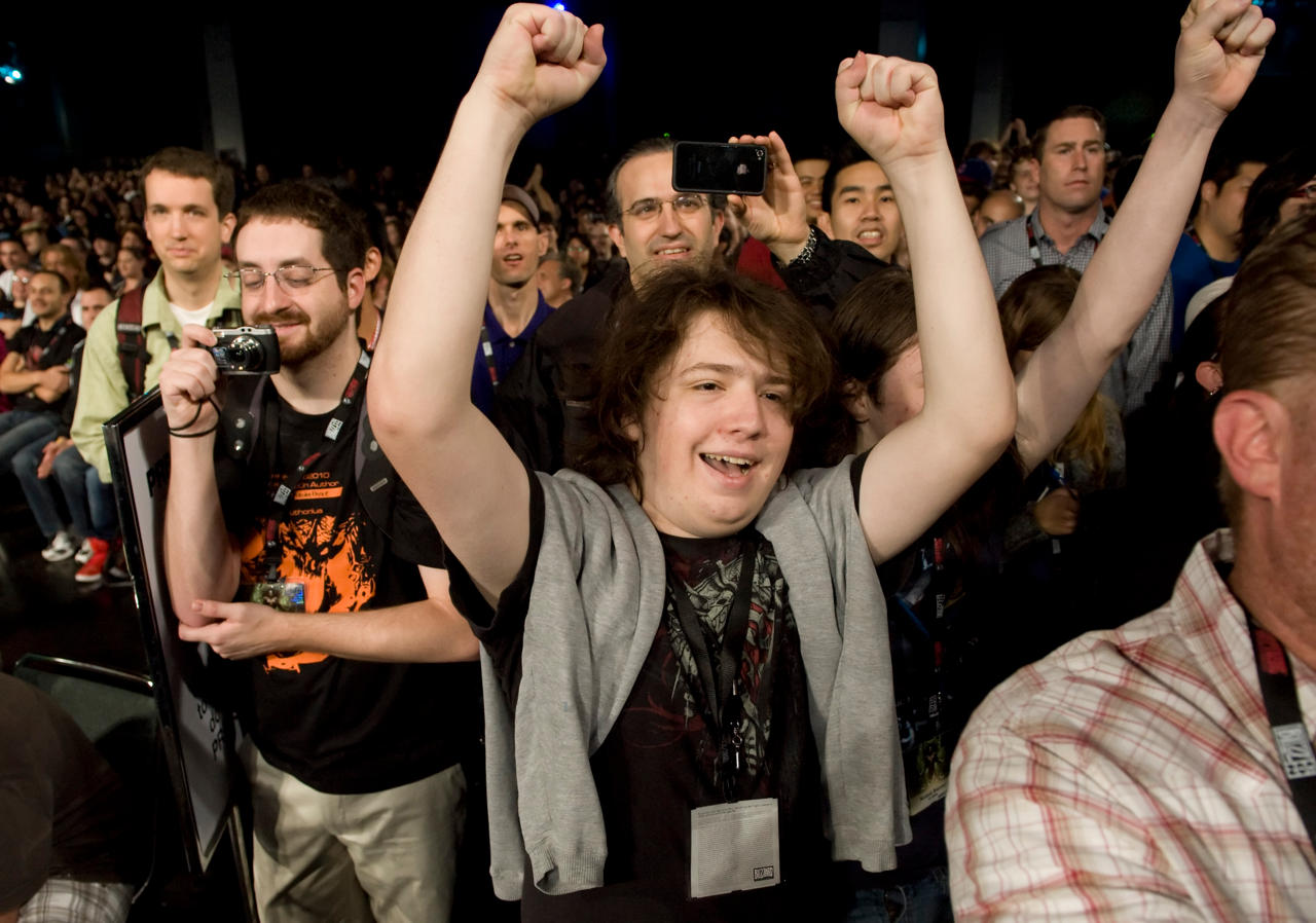 3. Absolutely Stoked for Blizzcon