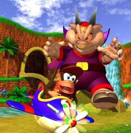 2. Wizpig in Diddy Kong Racing