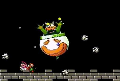 7. Bowser in Kaizo Mario World 2