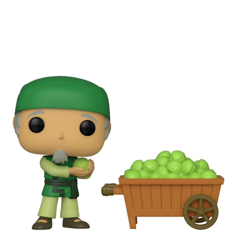 Avatar The Last Airbender: Cabbage Man And Cart NYCC 2019 Funko Pop