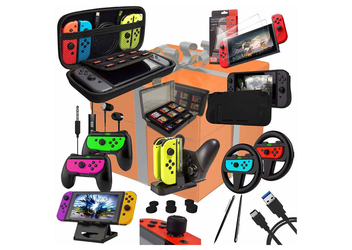 Orzly Switch Accessories Bundle