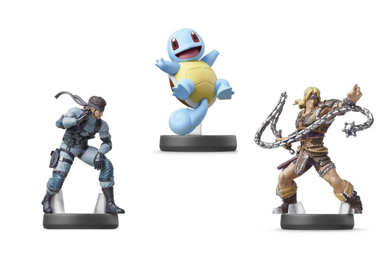 New Super Smash Bros. Series Amiibos