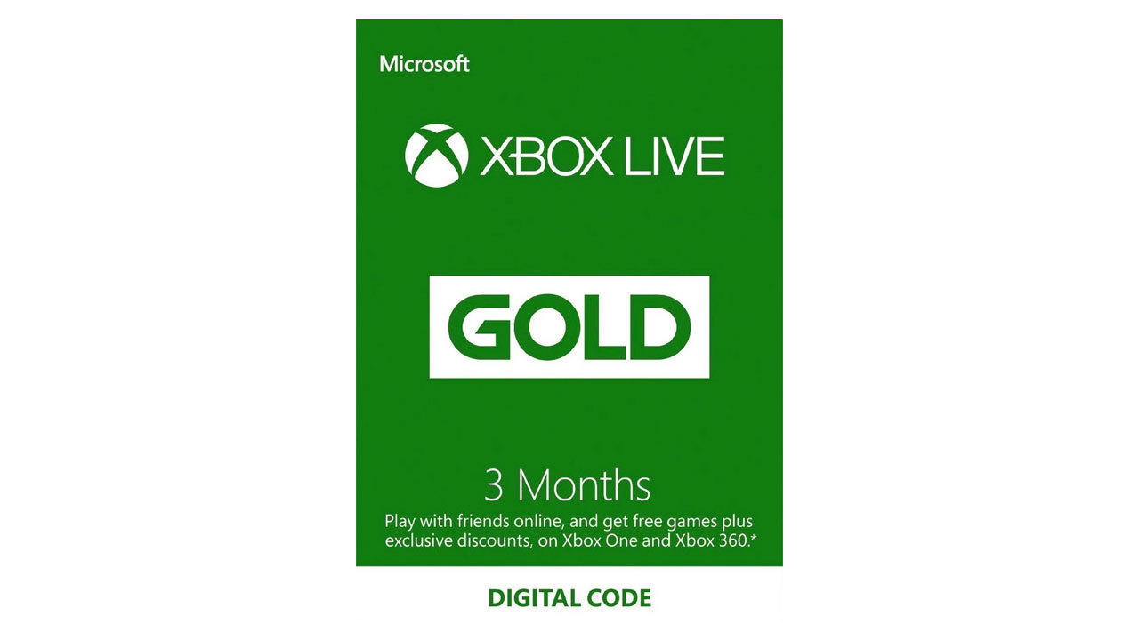 Xbox Live Gold - 3 Months | $15