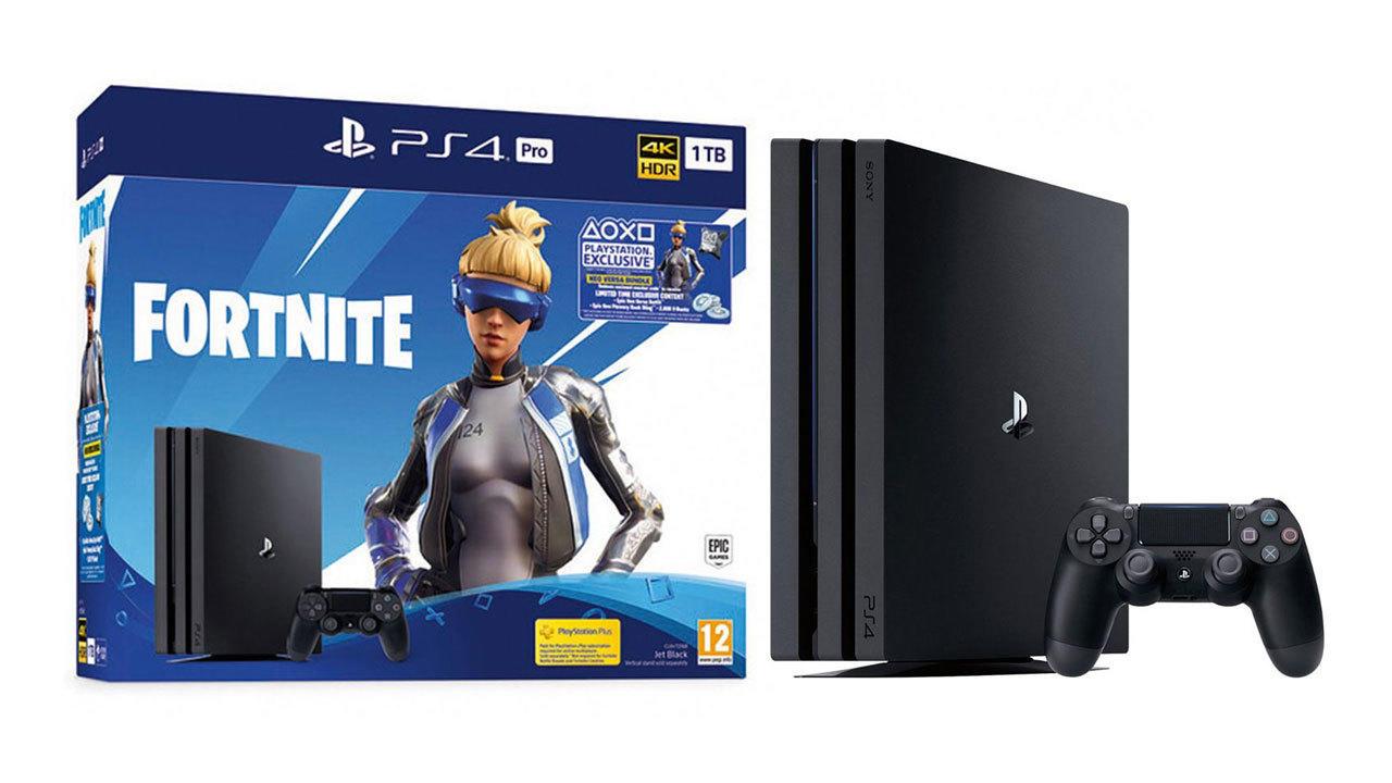 PS4 Pro 1 TB - Fortnite Versa Bundle | $300