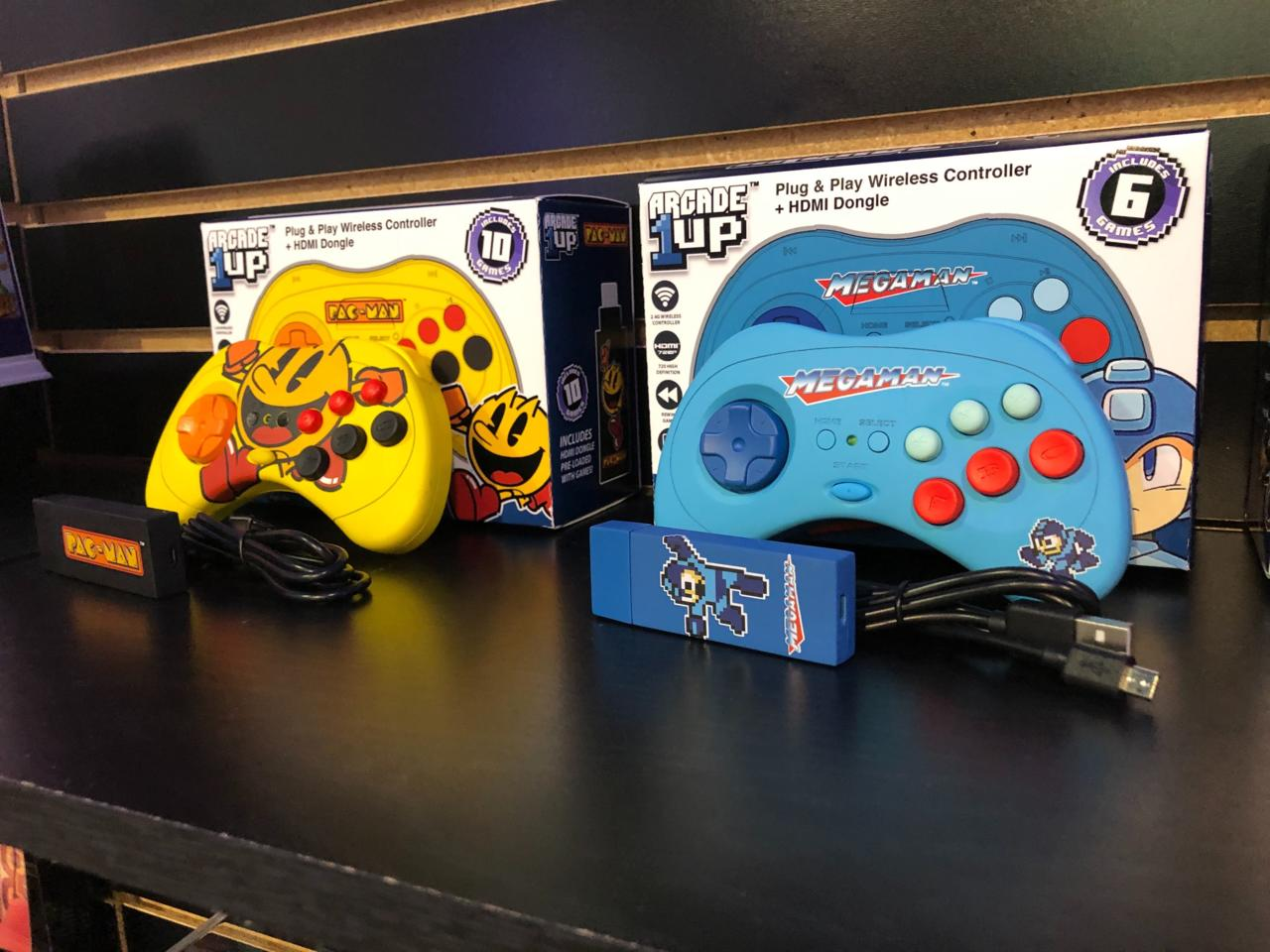 Plug-And-Play devices from Arcade1Up