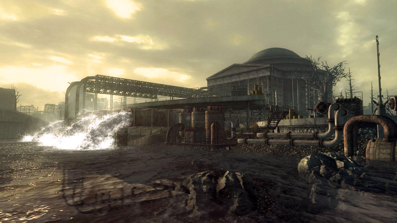 Fallout 3 (cont.) - Activating Project Purity
