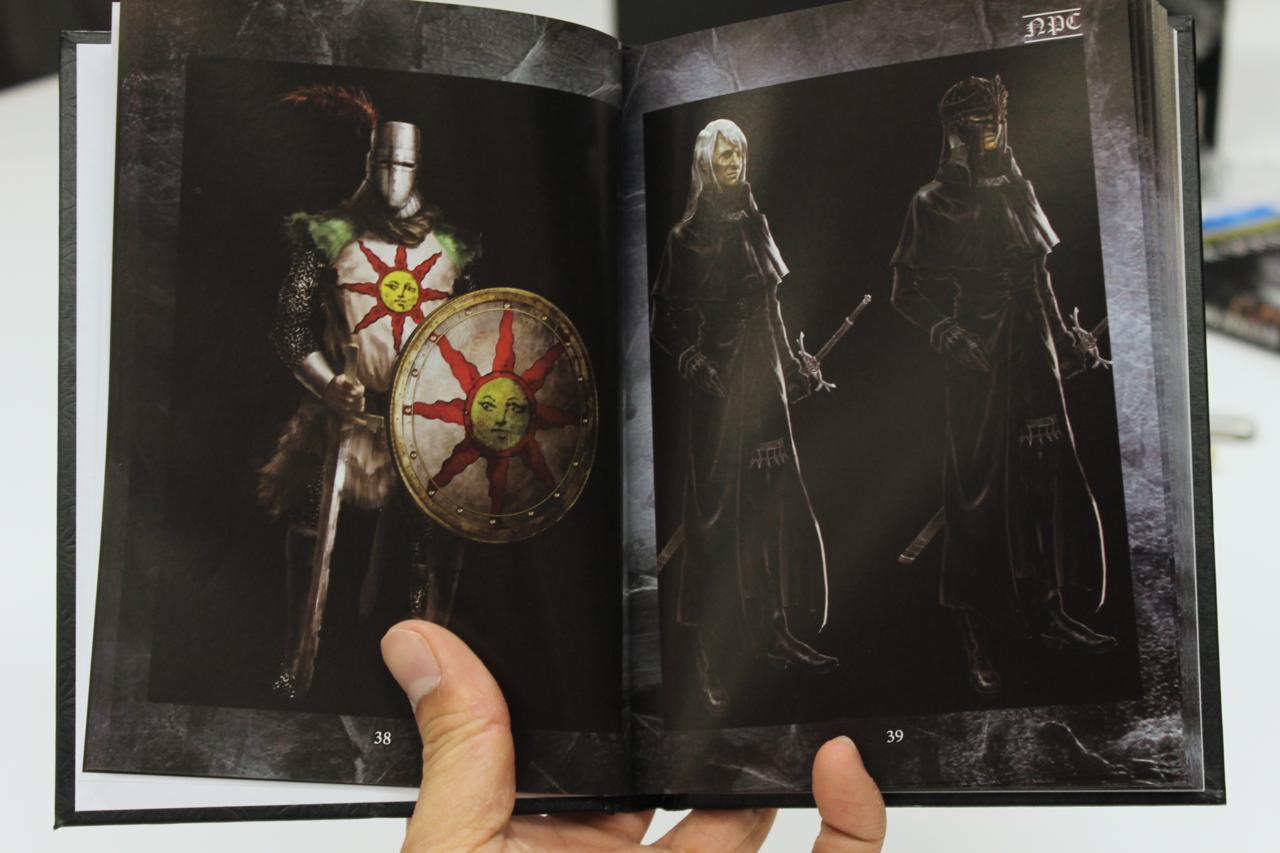 Dark Souls Trilogy Art Book (Art from Dark Souls 1)