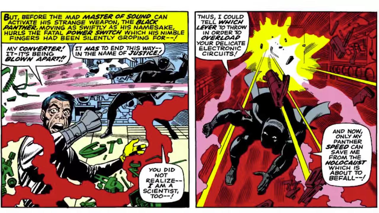 Seeking Vengeance: The Black Panther vs. Klaw