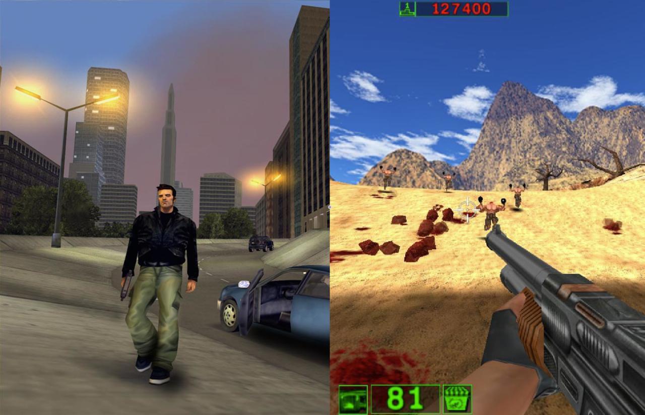 2001 | Grand Theft Auto III, Serious Sam: First Encounter