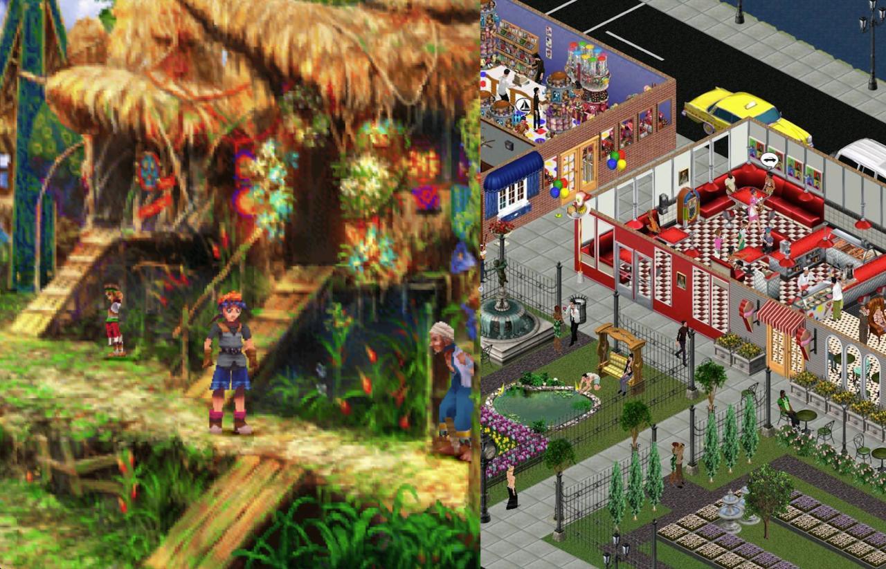 2000 | Chrono Cross, The Sims