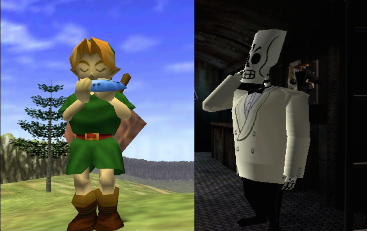 1998 | The Legend of Zelda: Ocarina of Time, Grim Fandango