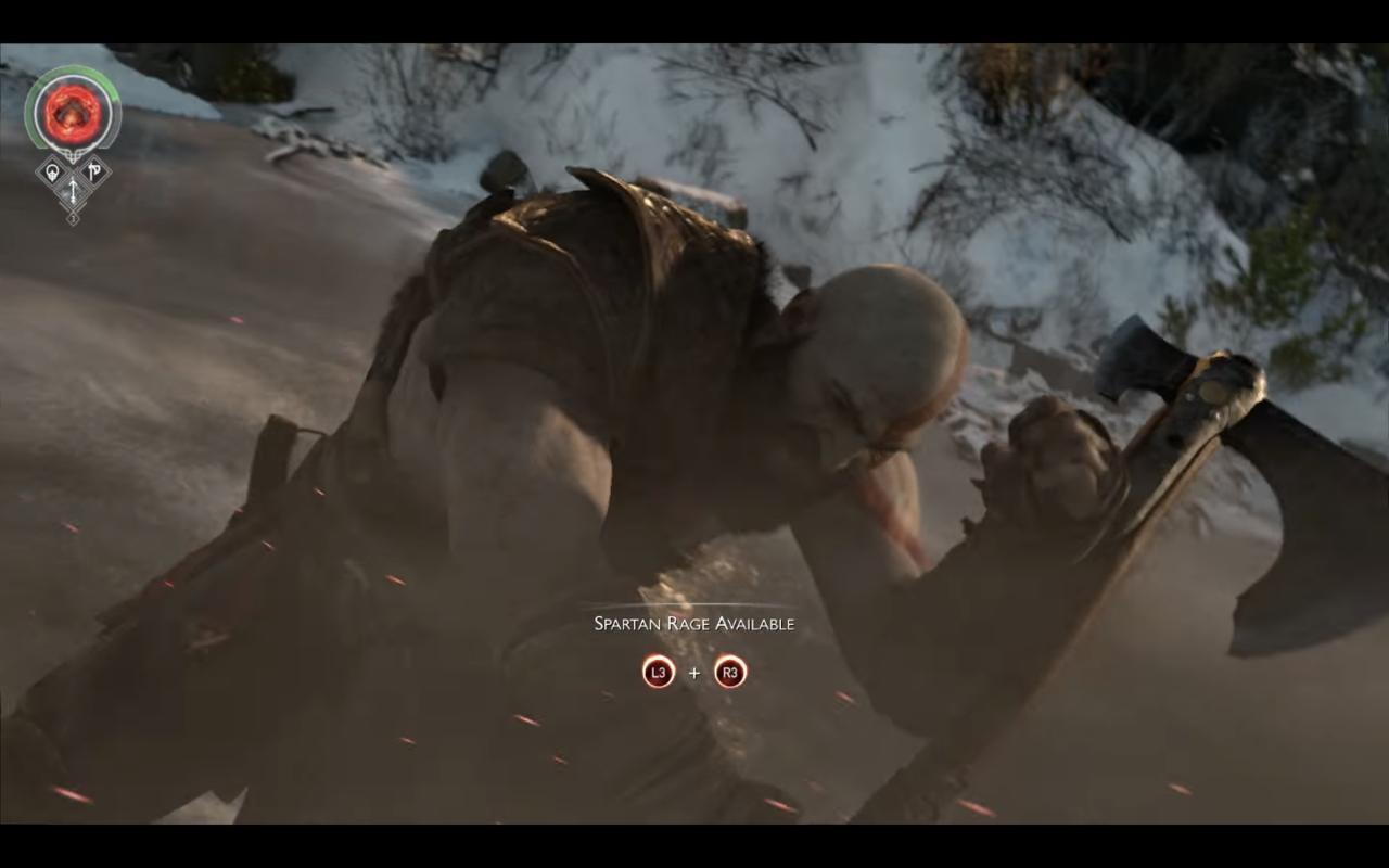 Kratos' Spartan Rage