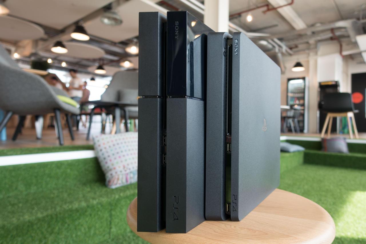 PS4 vs. PS4 Slim