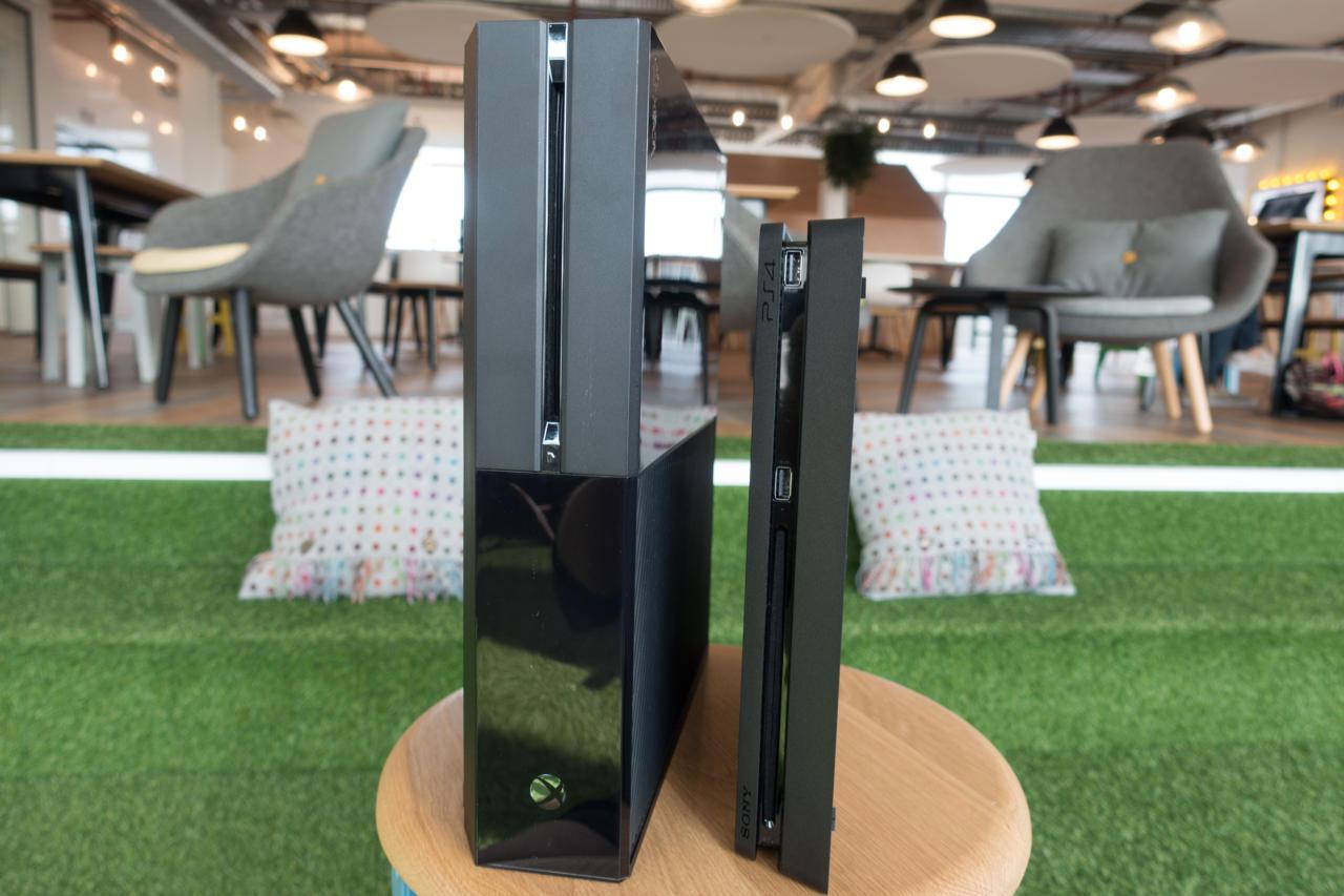 Xbox One vs. PS4 Slim