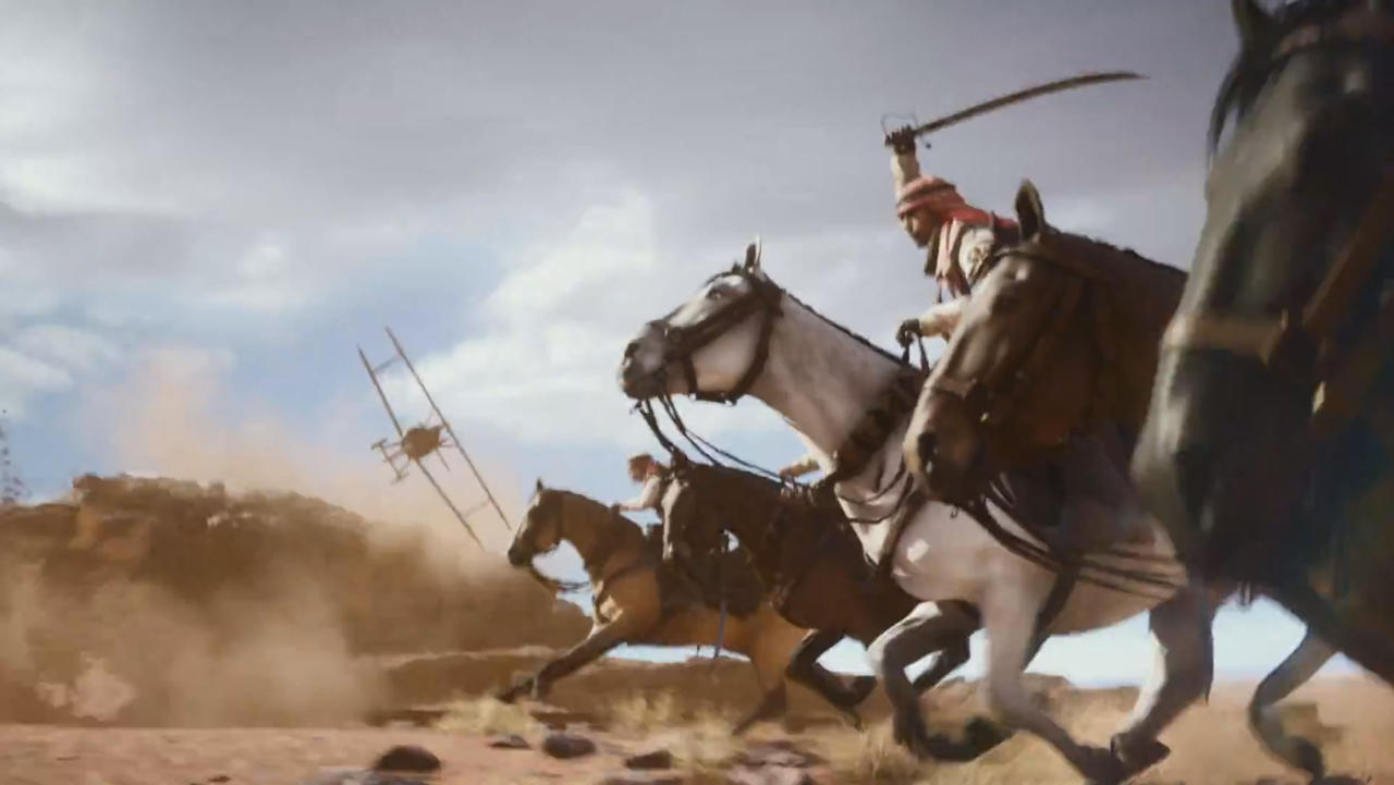Don't Freak Out Over Soldiers on Horseback