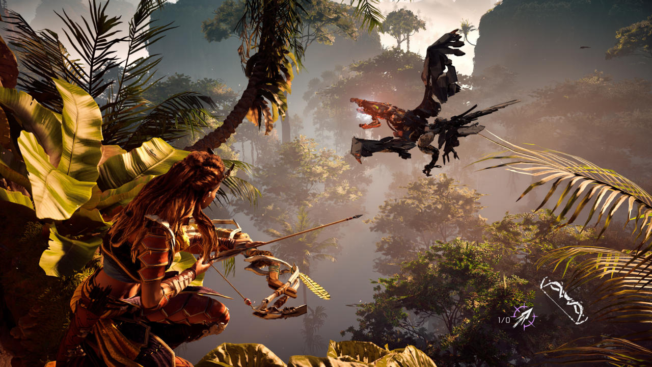 The upcoming Horizon: Zero Dawn will feature PS4 Pro support at launch.