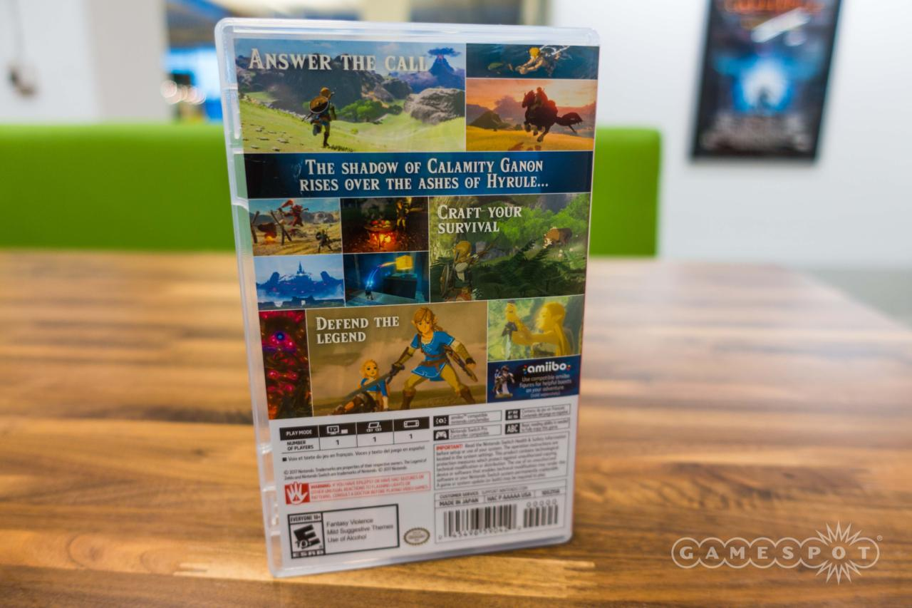 The Legend of Zelda: Breath of the Wild (Switch Version)