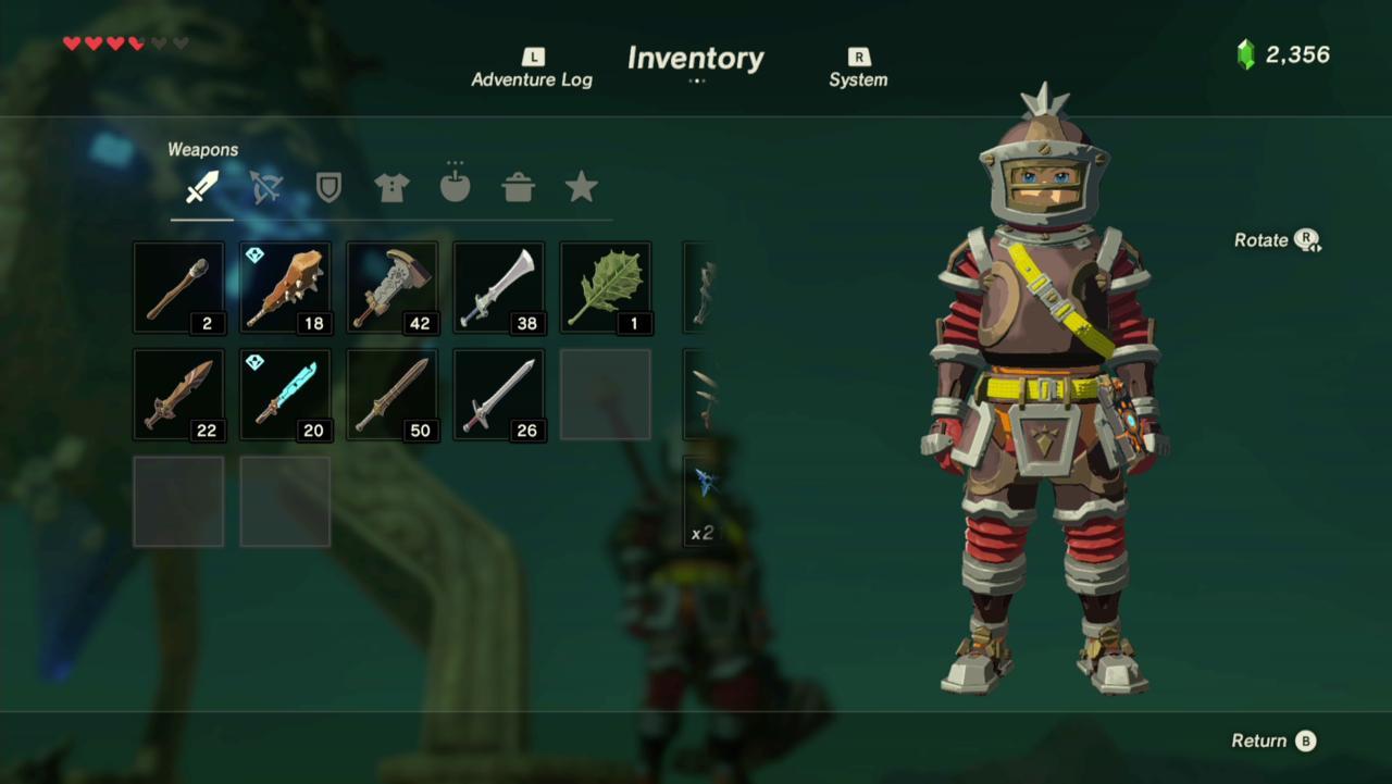 Flamebreaker Helmet, Armor, and Boots (Front)