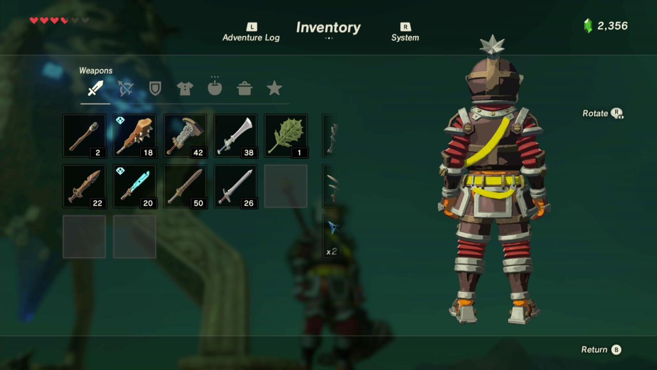 Flamebreaker Helmet, Armor, and Boots (Rear)