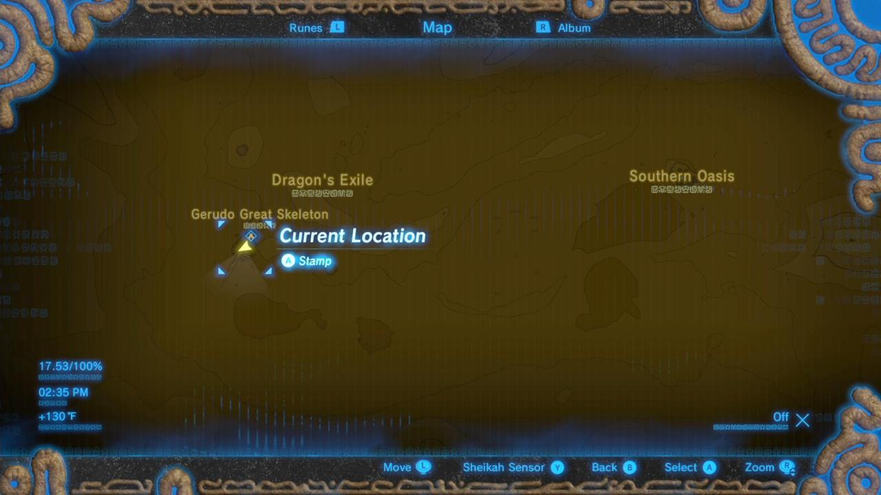 Where Is Tera's Great Fairy Fountain On The Map?