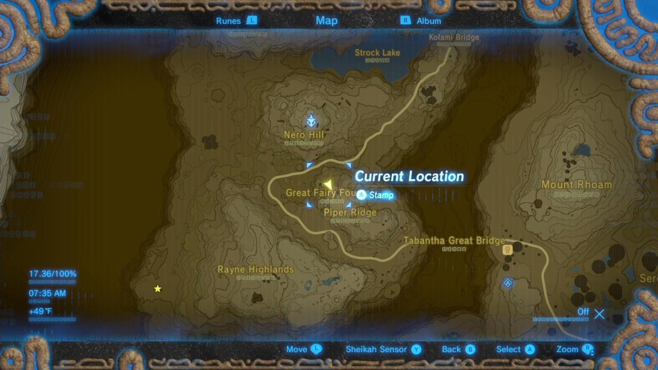 Where Is Kaysa's Great Fairy Fountain On The Map?