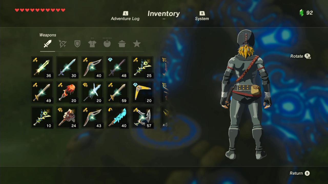 Radiant Mask, Shirt, and Tights (Rear)