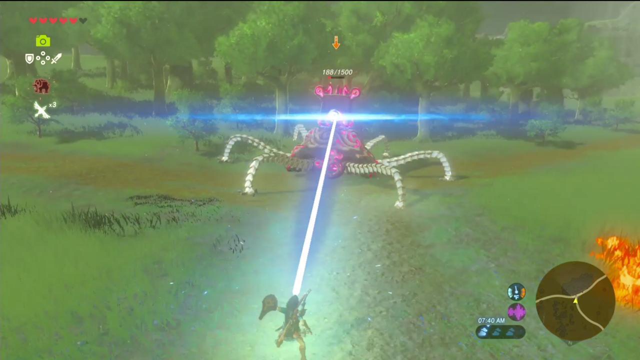 You Can Parry Guardian Laser Shots