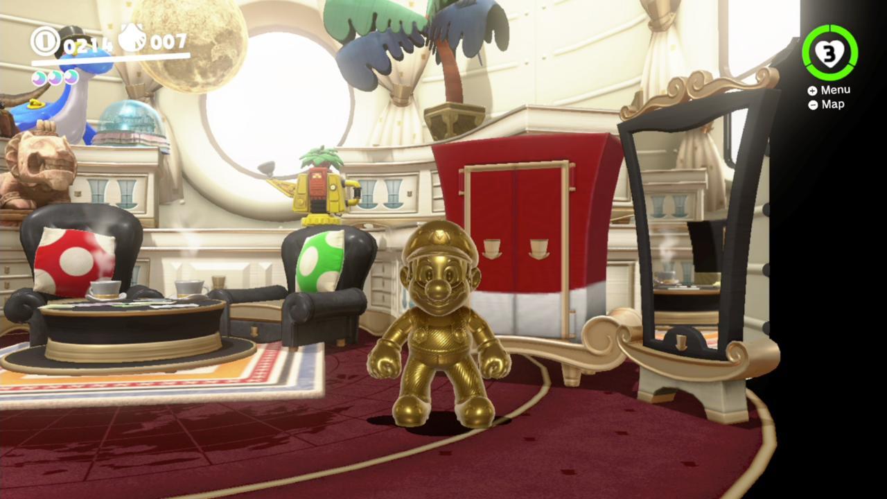 Gold Mario Suit