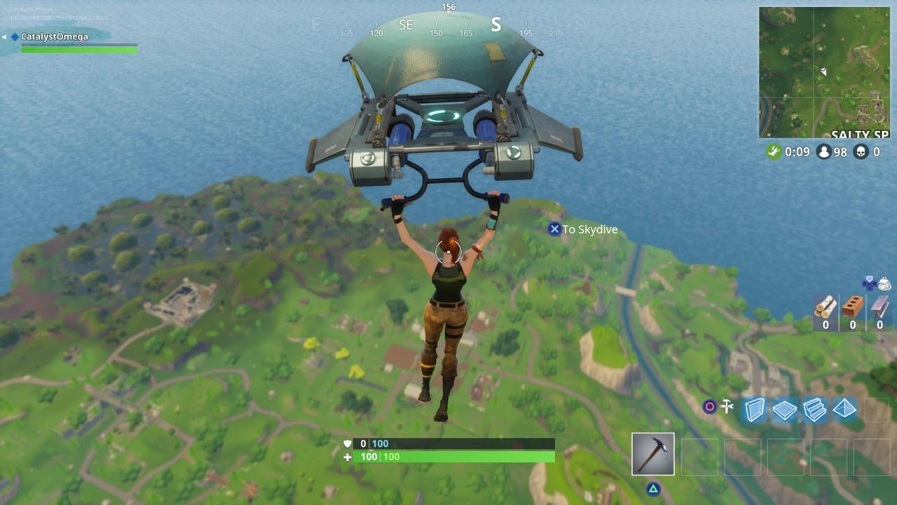 Pick Your Landing Zone And Avoid Other Players