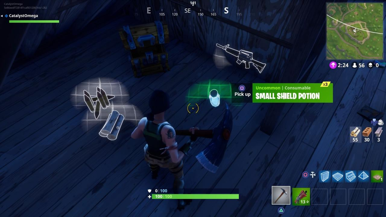 Drink Shield Potions As Soon As You Find Them