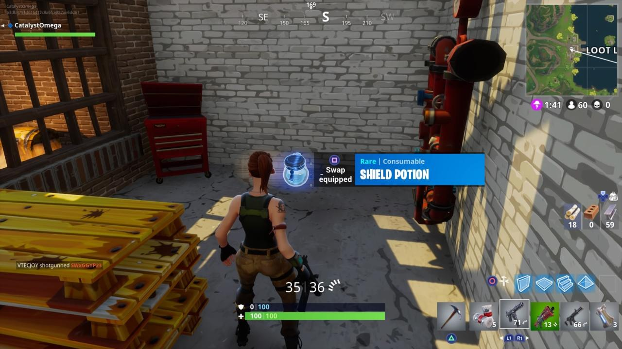 Shield Potions Are Essential