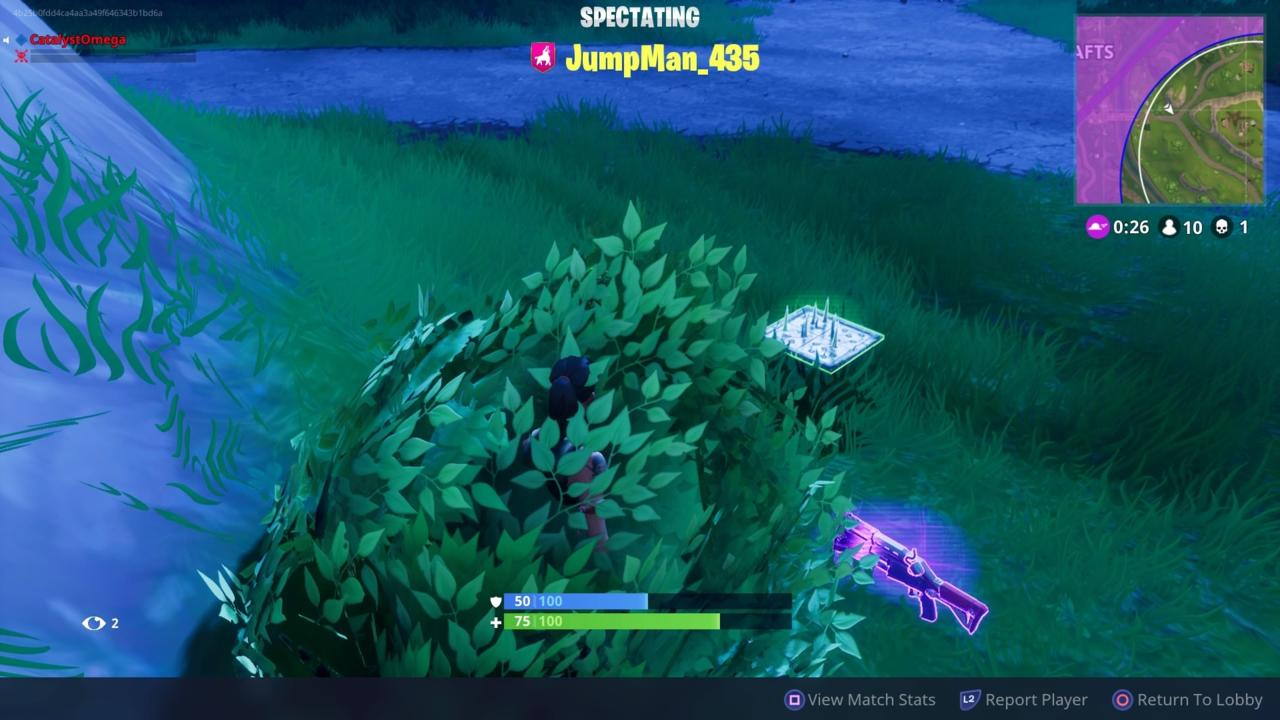 Use Bushes And Trees For Concealment