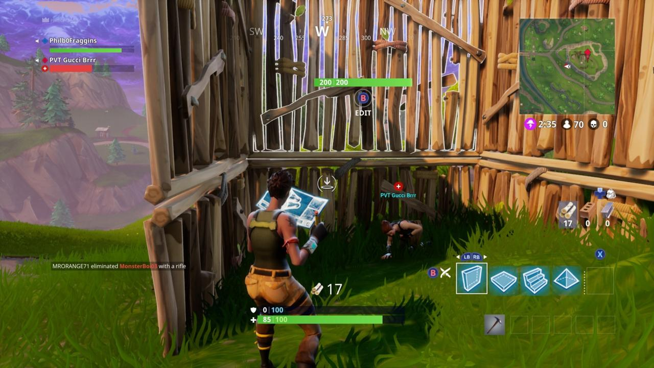 Throw Up Some Walls To Protect Downed Teammates