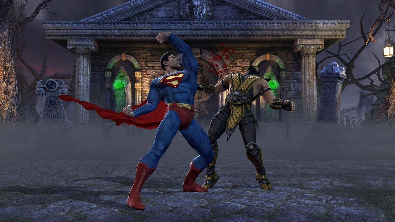 Mortal Kombat vs. DC Universe (November 16, 2008)