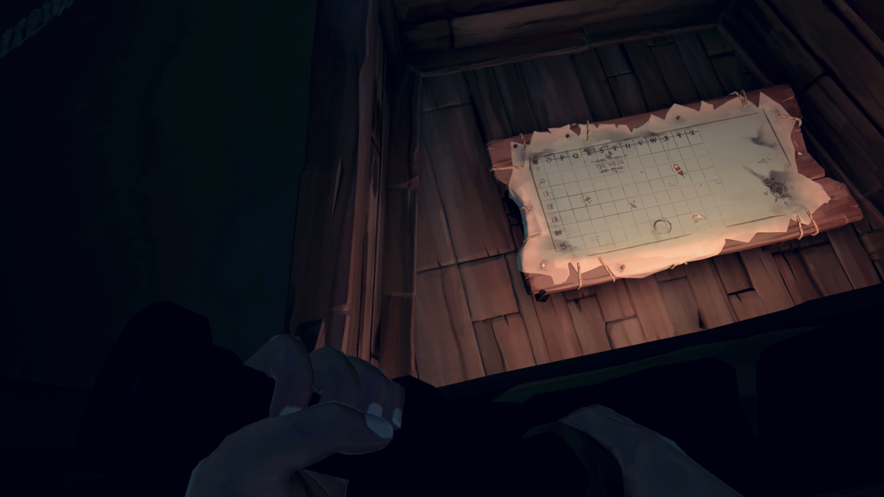 You Can Check Your Map From Your Sloop's Top Deck