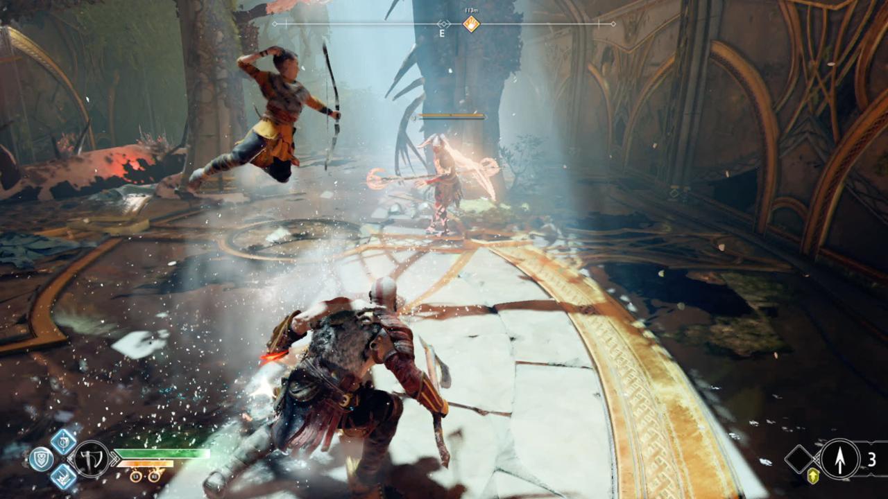 Make Atreus a Main Part Of Your Combat Repertoire