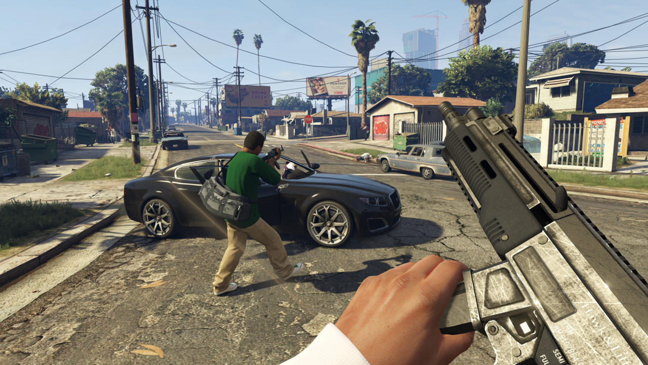 Grand Theft Auto V (2013): Practice Skills And First-Person View