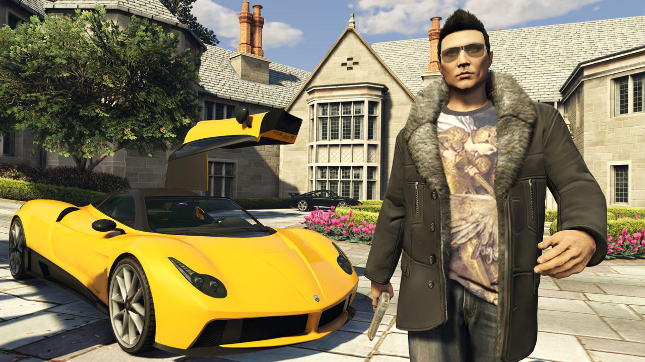 Grand Theft Auto Online (2013-Present): Multiplayer Scope And Variety