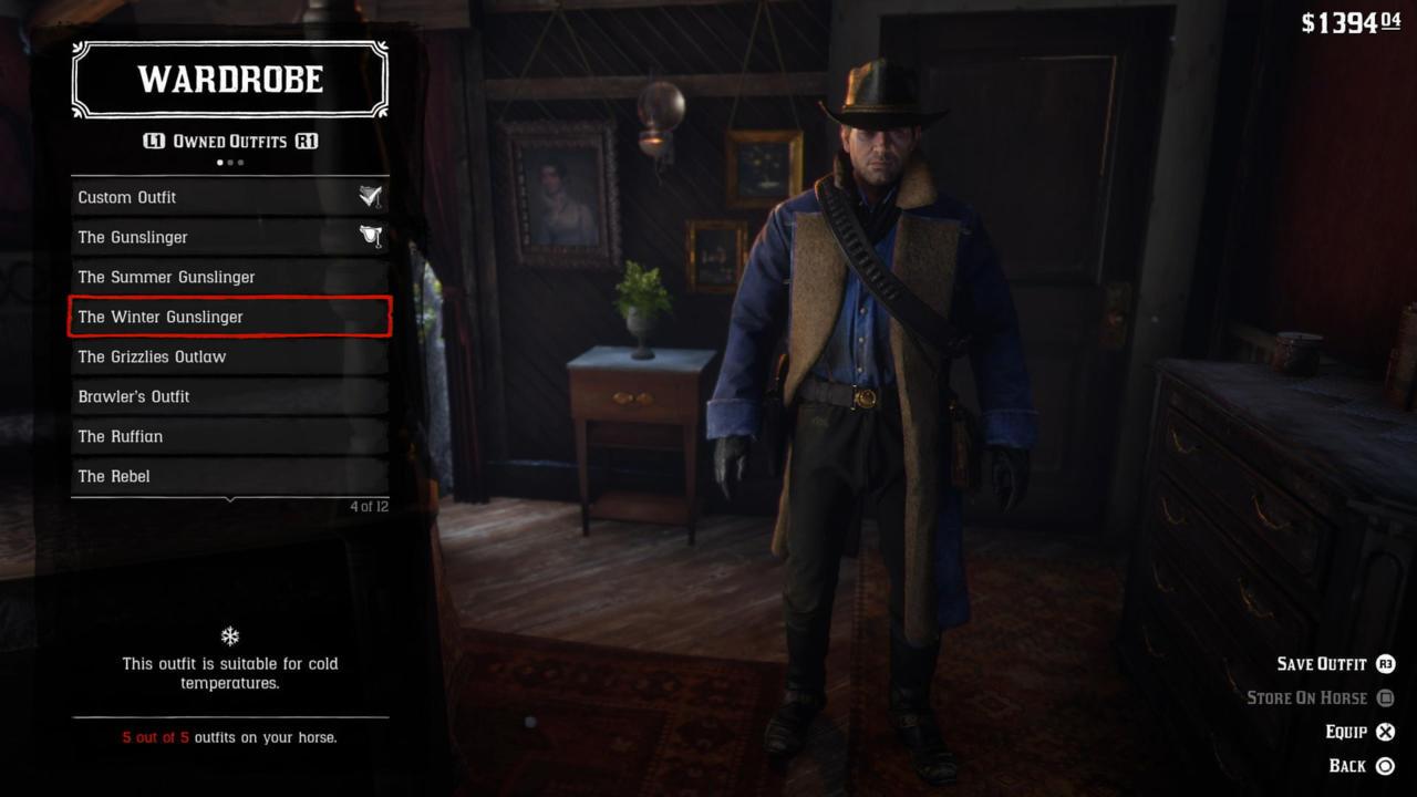 The Winter Gunslinger