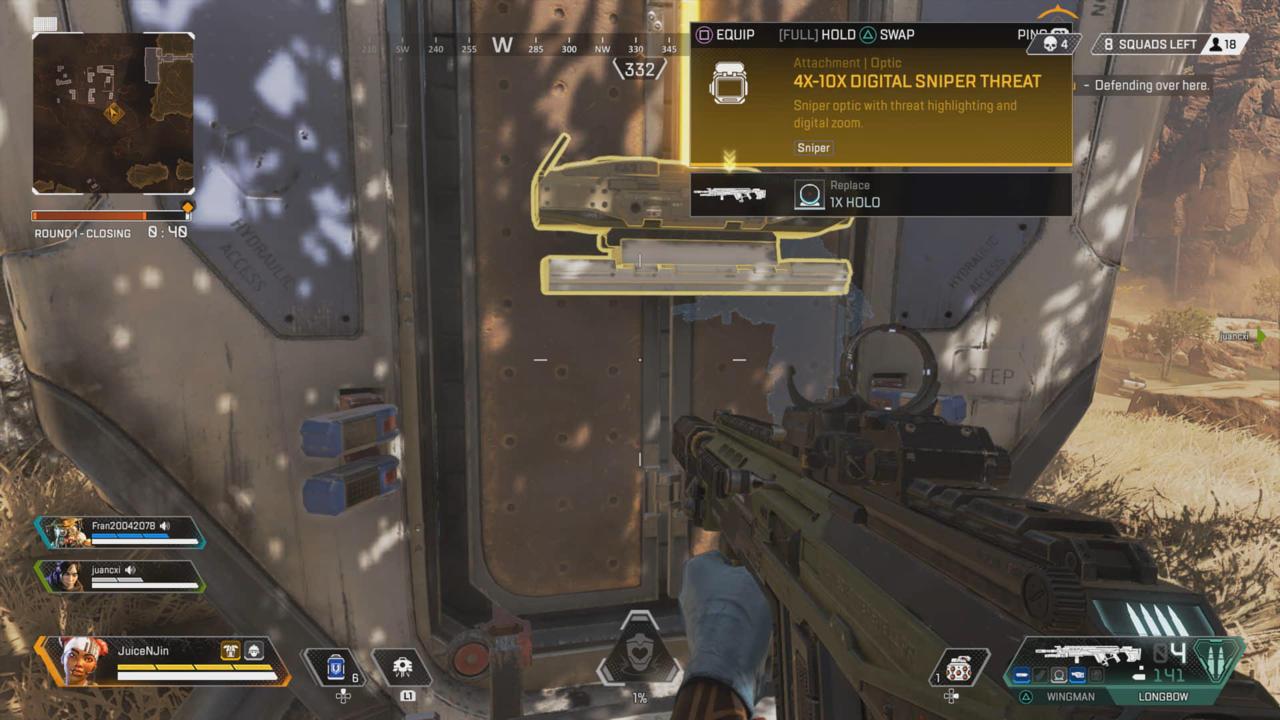 Legendary Tier (Yellow) Loot Has Special Perks