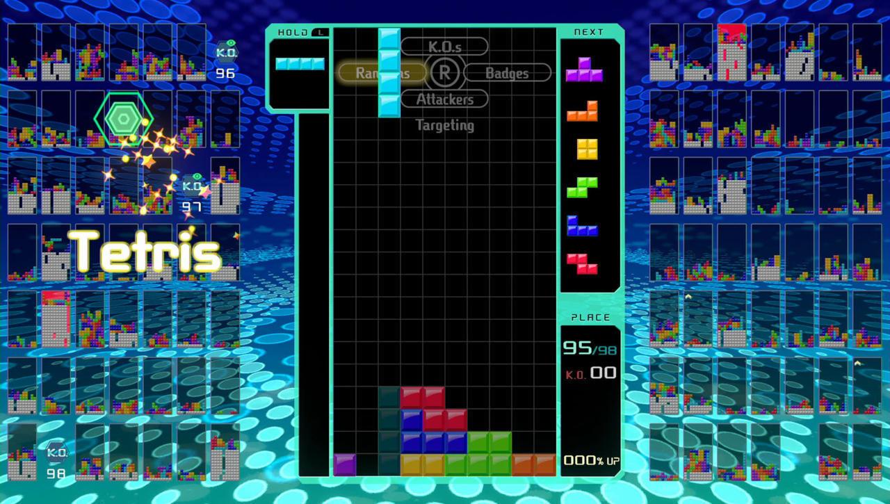Tetris 99 -- 8/10