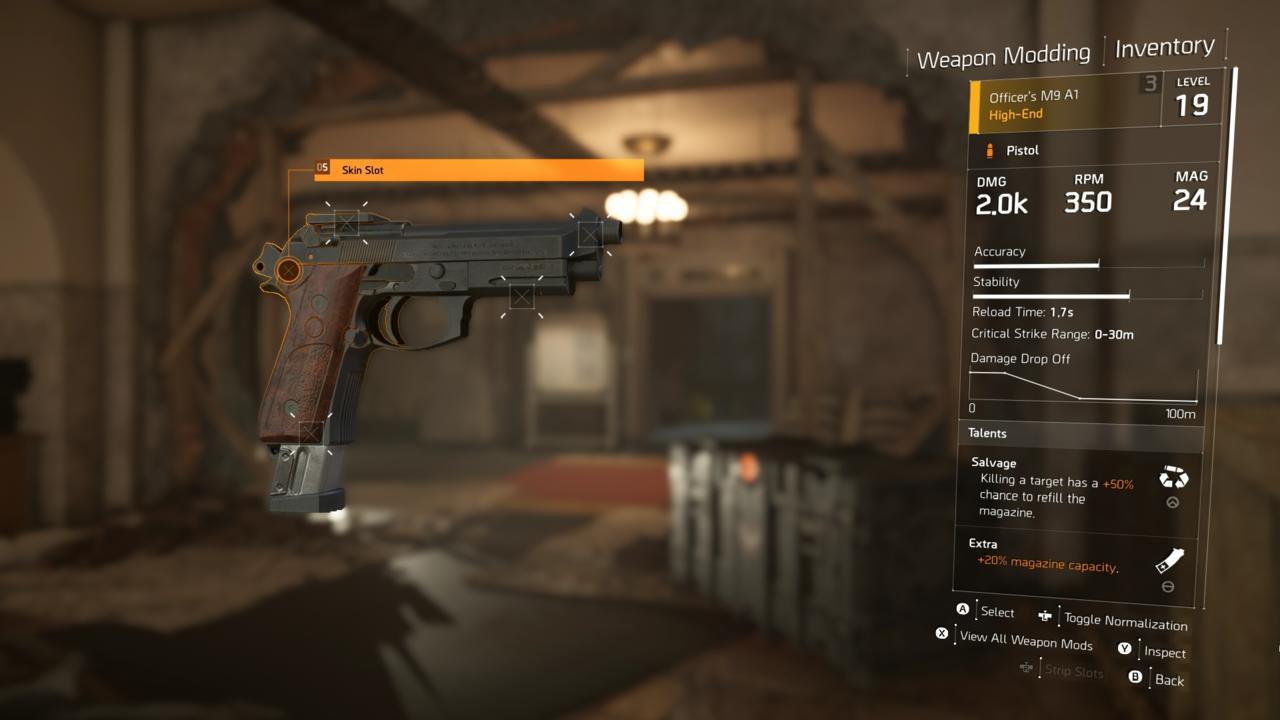 Officer's M9 A1 (High-End)