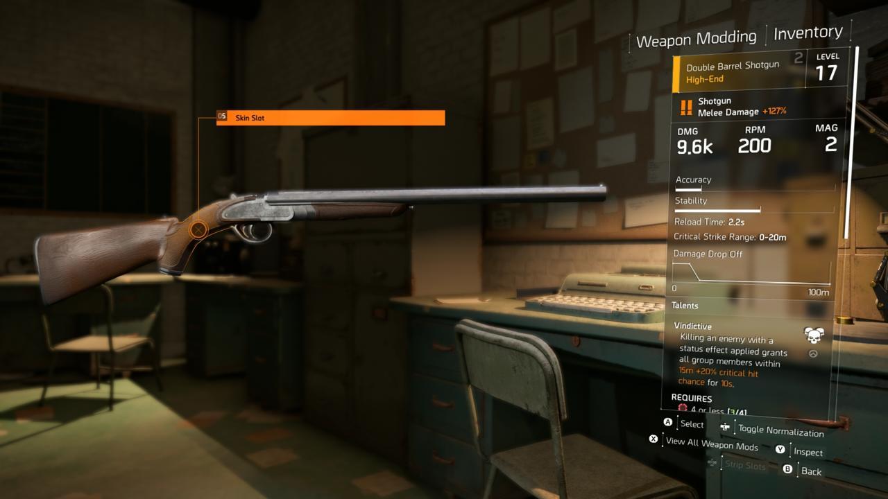 Double Barreled Shotgun (High-End)